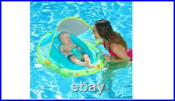 11554 Infant Spring Float Inflatable Swimming Pool Float with Canopy