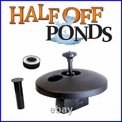 13 Floating Fountain with 750 GPH Pump with Color Changing Light WPSFD-13-RGB