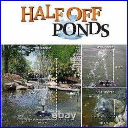13 Floating Fountain with 750 GPH Submersible Pump TGFD-13