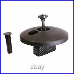 13 Floating Fountain with 750 GPH Submersible Pump WPSFD-13