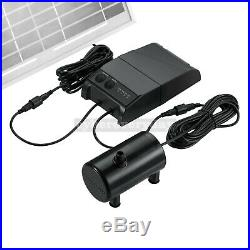 15W Solar Powered Fountain Water Pump Remote Control Floating Landscape Pool