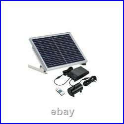 15W Solar Powered Fountain Water Pump Remote Floating Garden Pool Landscape