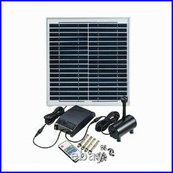 15W Solar Powered Fountain for Garden Pool Landscape Water Pump Remote Control i