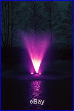 2HP COMMERCIAL DUTY Floating Pond and Lake Aerator with Light Kit Options