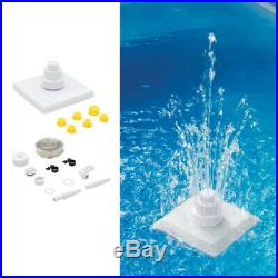 3 Tier Floating Above Ground/ Inground Swimming Pool Fountain Kit Pool Waterfall