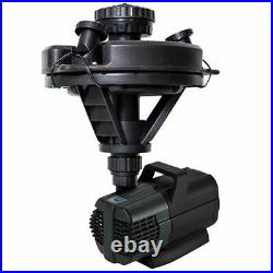 45383 Oase 1/4 HP Floating Fountain With Lights