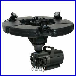 45393 Oase 1/2 HP Floating Fountain With Lights