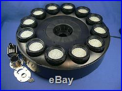 480 White LED Fountain & Floating Ring Great For Pools & Ponds
