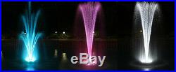 720 RGB LED Color Changing Fountain & Floating Ring Great For Pools & Ponds