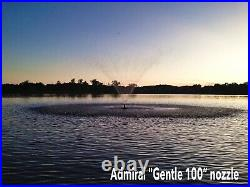 Admiral Lake and Pond commercial pond fountain. Full 1 HP motor with 100' cord
