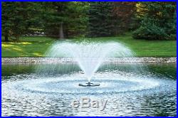 Airmax 1/2 HP Lake & Pond Aerating Floating Fountain 3 patterns With 100' Cord