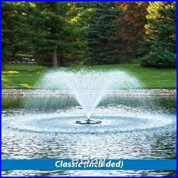 Airmax Lake & Pond Aerating 1/2hp Floating Fountain 3 patterns With 100' Cord