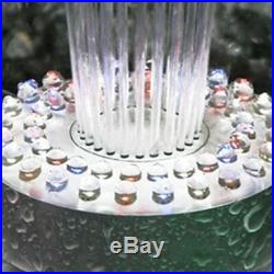 Alpine Floating Spray Fountain 48 LED Color Changing Lights 550 GPH Pump