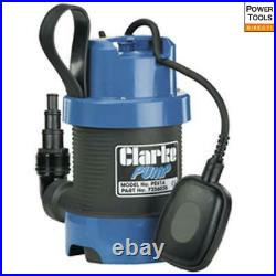 Clarke PSV1A 1 1/4 Dirty Water Submersible Pump with Float Switch