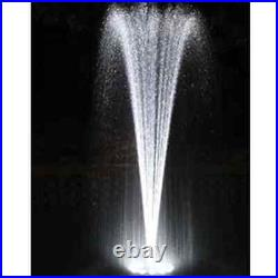 Complete Aquatics Floating Fountain with 48 LED White