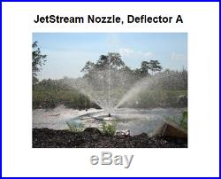 Custom Pro 1 HP Floating Water Fountain-with100' Cord-4 spray nozzles- large ponds
