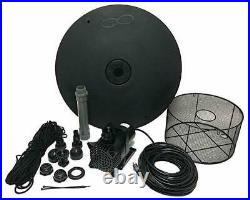 Custom Pro FT-3500 Floating Fountain Kit With 150' Cord & 4 Spray Patterns