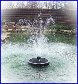 Custom Pro Floating Pond Fountain with6000 gph pump-water spray of 10'H x 8' Wide