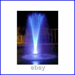 Custom Pro Floating Water Fountain with Multi-color LED Lights & 1100 gph pump
