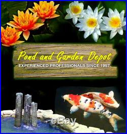 CustomPro Floating Pond Fountain Aerator with Multi-tier Nozzle 3000GPH 100ft Cord