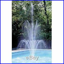 Easy To Attach Grecian Triple Tier Floating Swimming Pool Fountain Add Spark