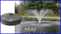 Easy pro ACF2N 24 Floating Pond Fountain Head Includes 2 Wide Umbrella Nozzle