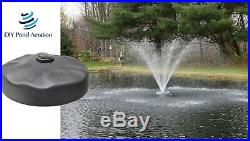 EasyPro 24 Floating Pond Fountain Head Includes 2 Wide Umbrella Nozzle ACF2N