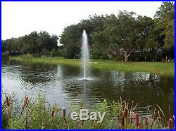 Fawn Lake Fountains Floating Pond & Lake Fountain Model SF75 5500+GPH