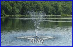 Fawn Lake Fountains Floating Pond and Lake Fountain Model SF50 4000+GPH