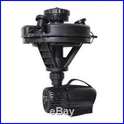 Floating Fountain, 1/4 HP, withLights POND BOSS DFTN12003L