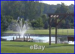 Floating Lake and Large Pond Fountain Durable Quality Easy DIY Kit