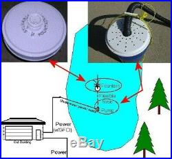 Floating Lake and Large Pond Fountain Easy DIY Kit