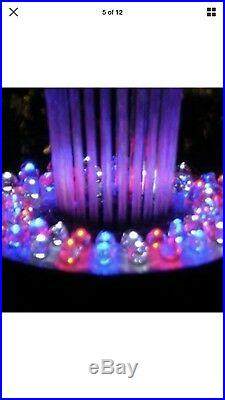 Floating Water Fountain Color Changing or All White 600GPH for pools or pond