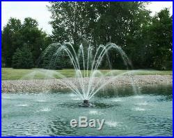 Kasco 2400SF100 xStream 1/2 HP Floating Fountain with100' cord-for Pond/Lake-water