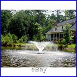 Kasco 2400VFX200 Floating Pond Fountain-1/2 HP Aerator with 200 ft Cord and rope