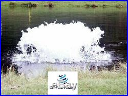 Kasco Surface High O2 Pond Aerator De-Icer 1/2HP 120V With Float & 100' Cord