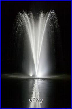 Lighted Pond Fountain Floating Pond Aeration Pond Fountains TheFountainGuys