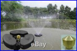 Matala Floating Fountain Pond Aerator 1/2 HP With Type A Nozzle 110V 65Ft. Power