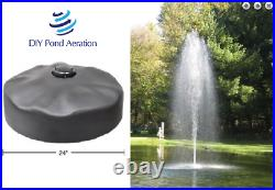 NEW 1 HP Aqua Fountain with 150 Power Cord GFI With TIMER 16' HIGH x 5' AF10015