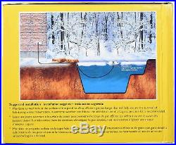 NEW Floating Heated De-Icer for Ponds Water Fountain 500 Watts Fish Plant Safe