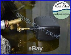 (ON VACATION) Float Valve, Auto Fill, for Pond, Pool, Fountain, Water Feature