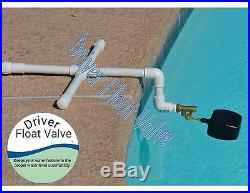 ON VACATION Float Valve, Auto Fill, for Pond, Pool, Fountain, Water Feature