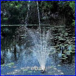 Oase 1/4 HP Floating Fountain withLights