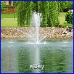 Outdoor Water Solutions Floating Pond Fountain 1/2 HP 4 Nozzles Model# FTN0421