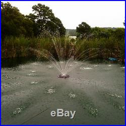 Outdoor Water Solutions Floating Pond Fountain 1 HP, 4 Nozzles, Model# FTN0440
