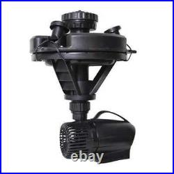 POND BOSS 52595 Floating Fountain, 1/4 HP, withLights