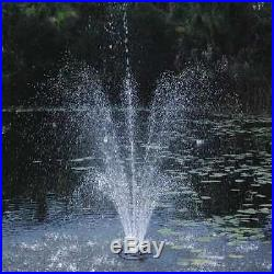 POND BOSS PROFTN51003L Floating Fountain, withLights, 1/2HP
