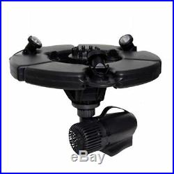 Pond Boss 1/2 HP Floating Fountain with Lights