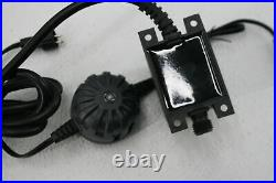 Pond Boss 871980004162 Black Floating Fountain w Lights 50 Foot Power Cord