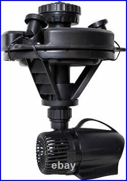 Pond Boss DFTN12003L 1/4 HP Complete Floating Fountain Kit 2300 gph with Lighting